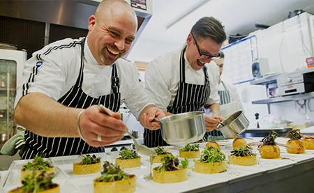 Chefs at Clock Barn - © Paul Willetts Photography