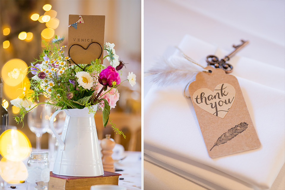 Little decor ideas for your wedding day