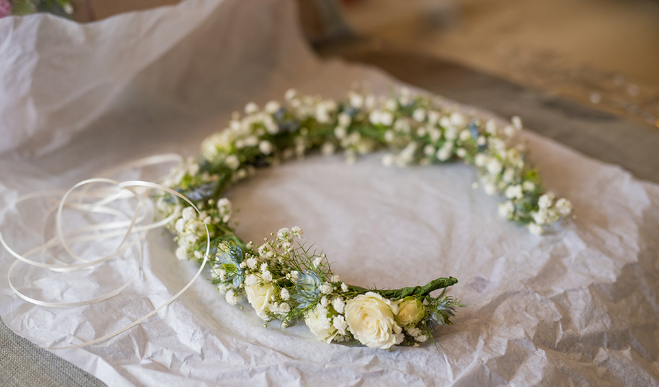 Stunning wedding flower decor