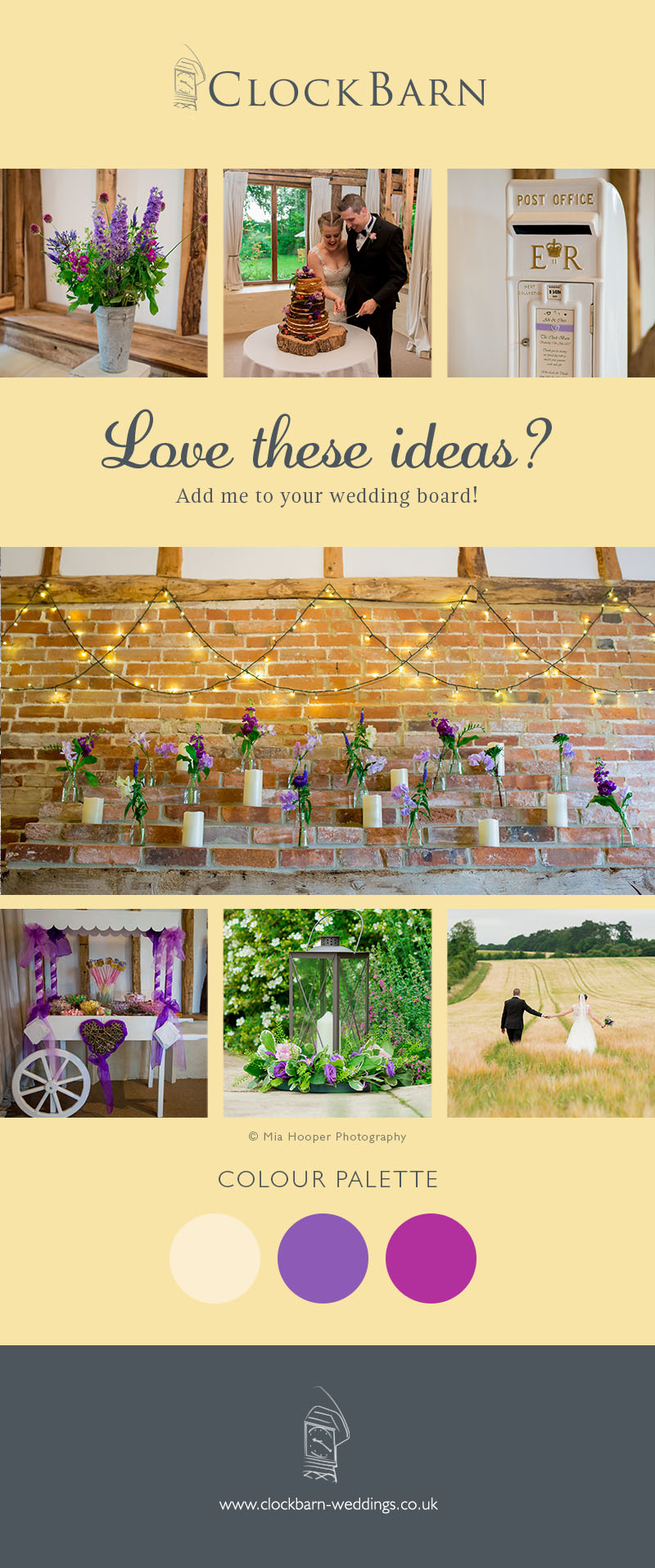 Abi and Chris Clock Barn Wedding