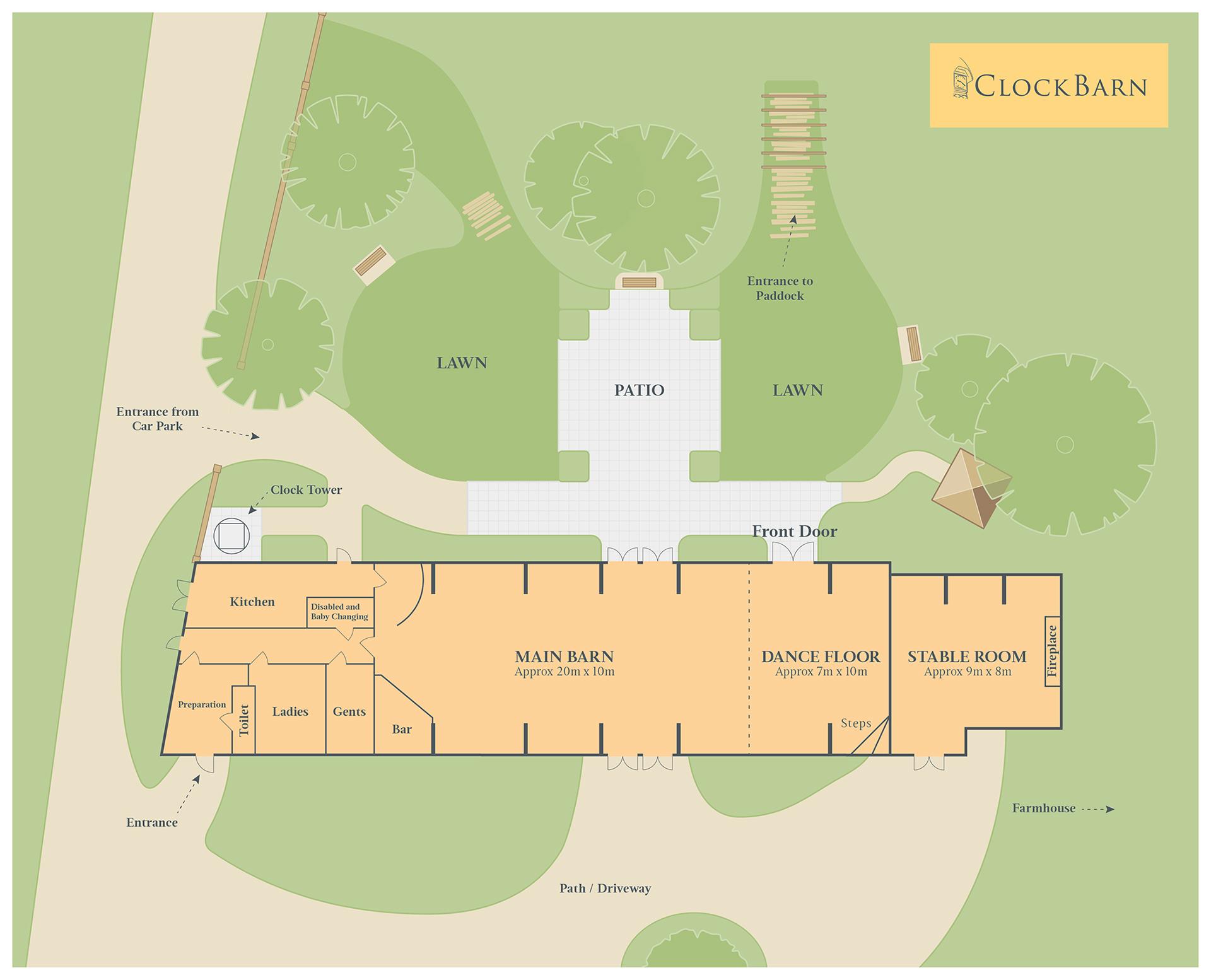 Clock Barn Floor Plan