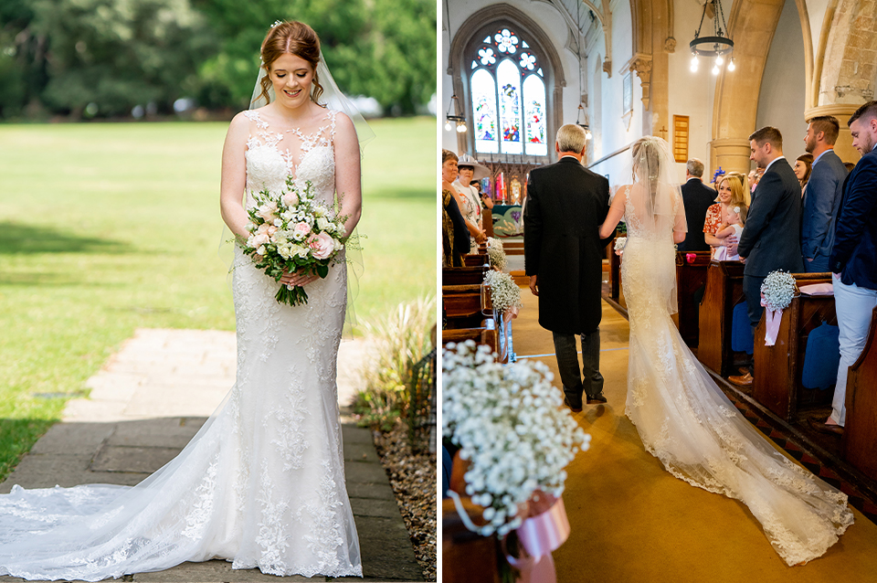 Becky & Cody's English Country Summer Wedding at Clock Barn